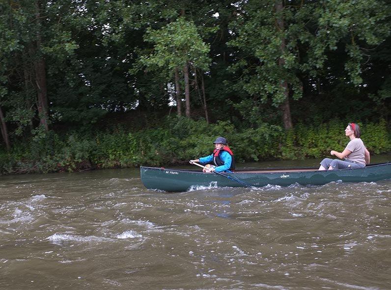 Mainfahrt - Leichtes Wildwasser 7