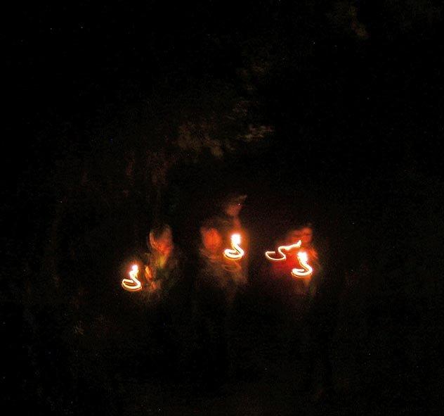 Waldwölfe - Übernachtung 3