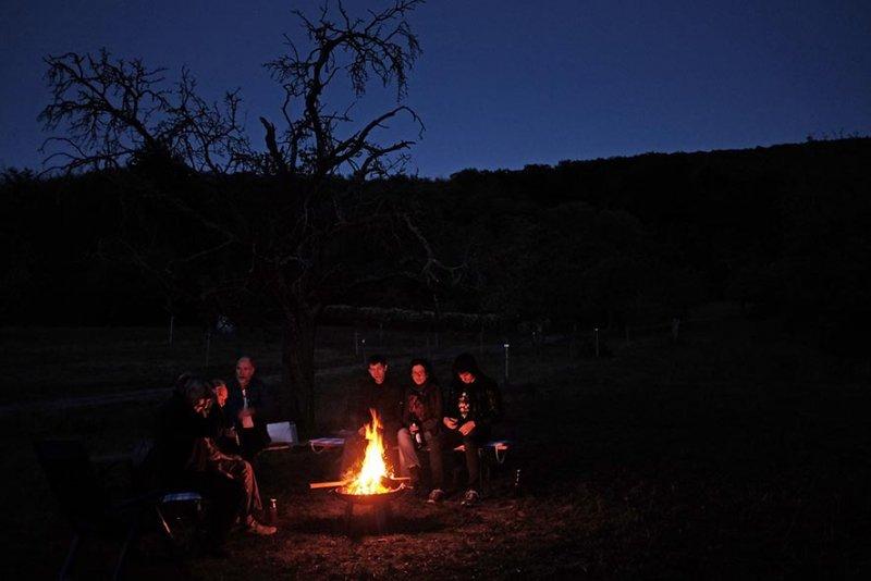 Nacht am Lagerfeuer 4