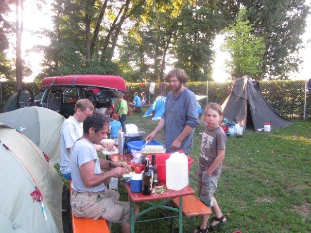 Camp Bamberg - Abendbrot 01