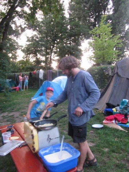 Camp Bamberg - Abendbrot 03