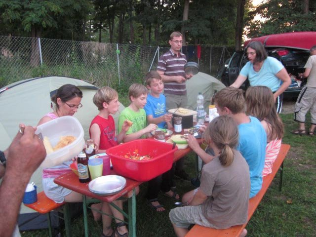 Camp Bamberg - Abendessen 09