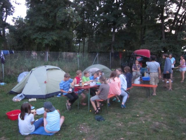 Camp Bamberg - Abendessen 07