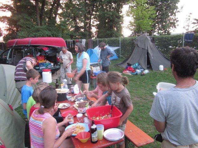 Camp Bamberg - Abendessen 01