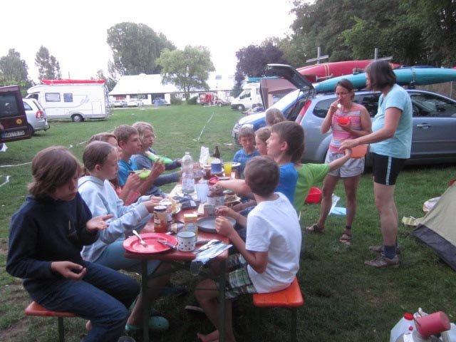 Camp Bamberg - Abendessen 02