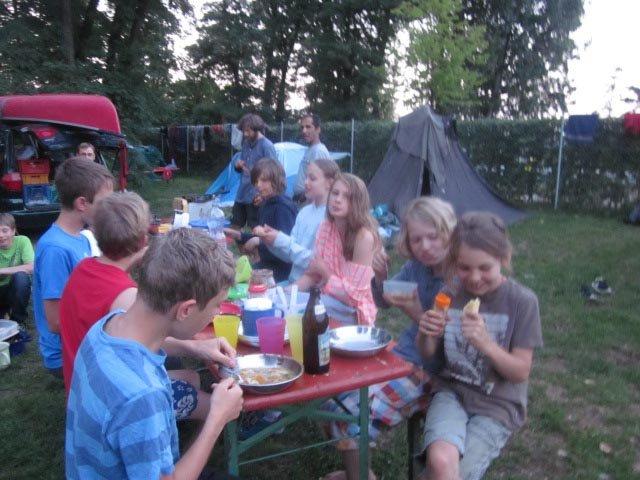 Camp Bamberg - Abendessen 03