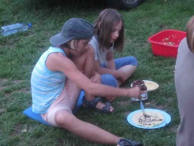Camp Bamberg - Abendessen 04