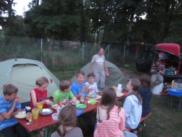 Camp Bamberg - Abendessen 05