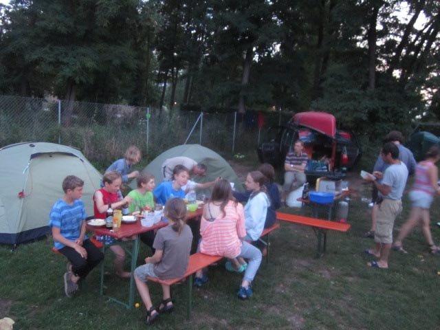Camp Bamberg - Abendessen 06
