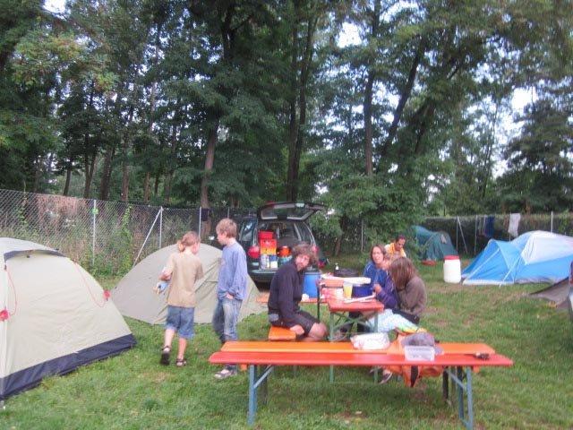 Camp Bamberg - Frühstück 1