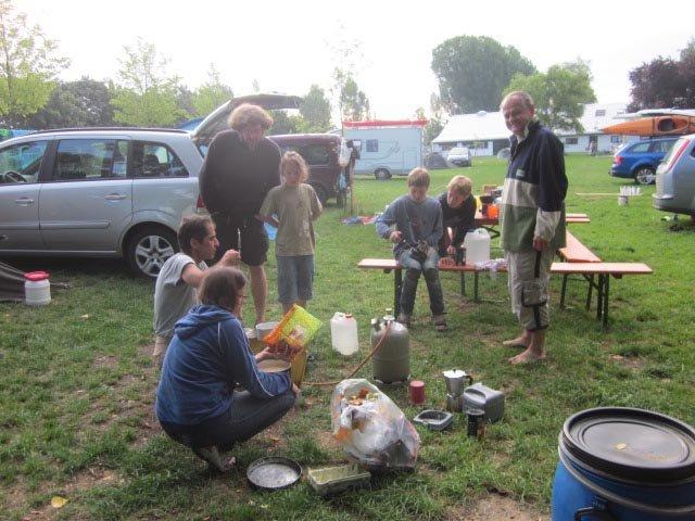 Camp Bamberg - Frühstück 3