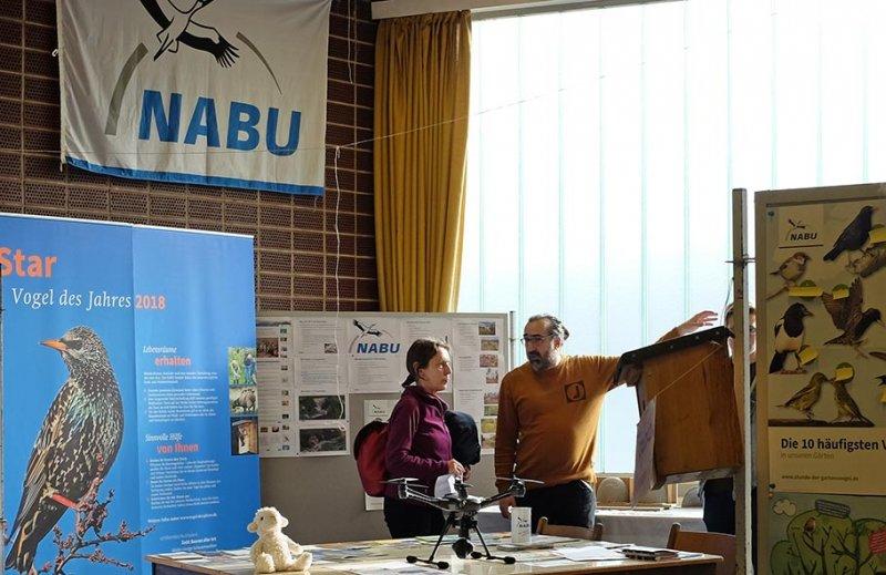 Infomesse NABU-Stand 1