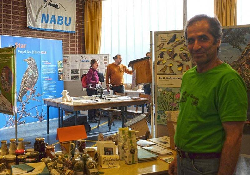 Infomesse NABU-Stand 2
