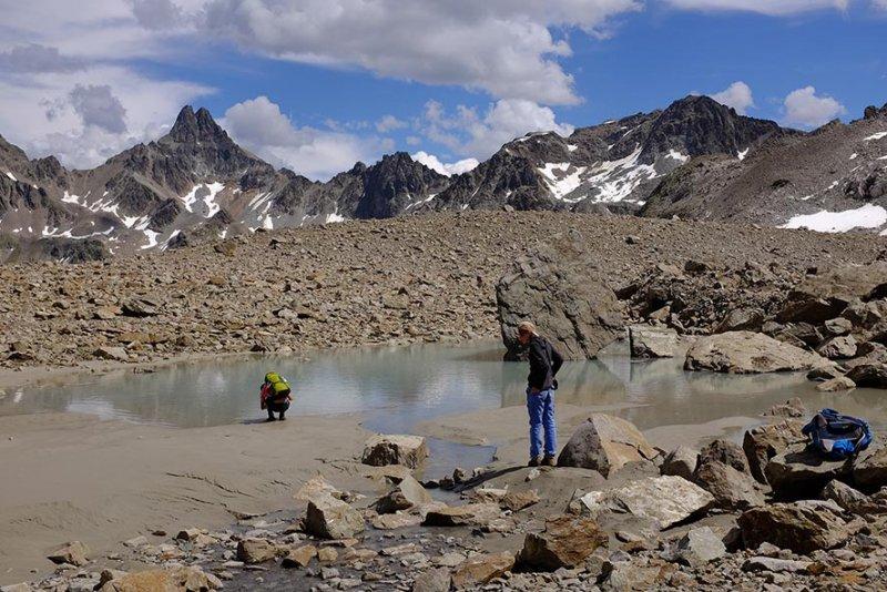 16 Schmelzwassersee auf der Hochebene 1