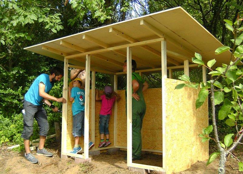 Werkzeughütte im Wühlmausgarten 14