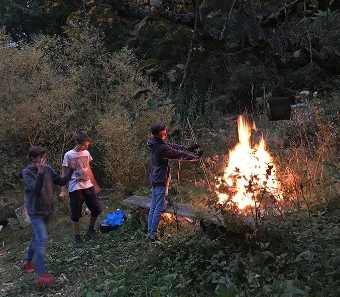 Etzwiesen Lagerfeuer 2