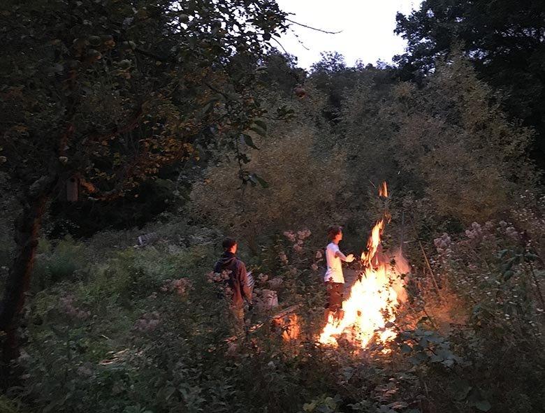 Etzwiesen Lagerfeuer 3