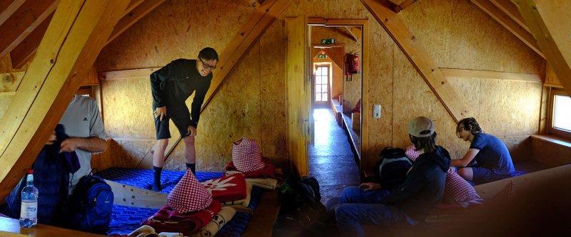 01 Schlaflager Darmstädter Hütte 1