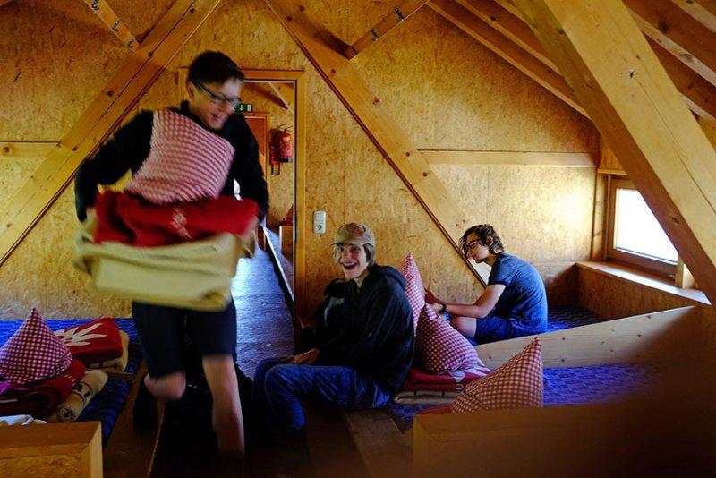 01 Schlaflager Darmstädter Hütte 3