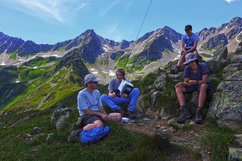 14 Gipfelkreuz neben Niederelbehütte 2