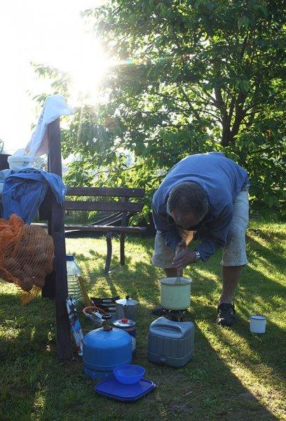 Lager Falken - Frühstück 1