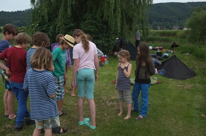 Lager Frieda - abendliche Spielrunde 4