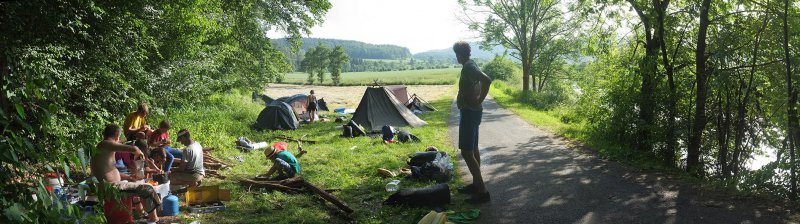 Lager Kleinvach - Abendbrot vorbereiten 2