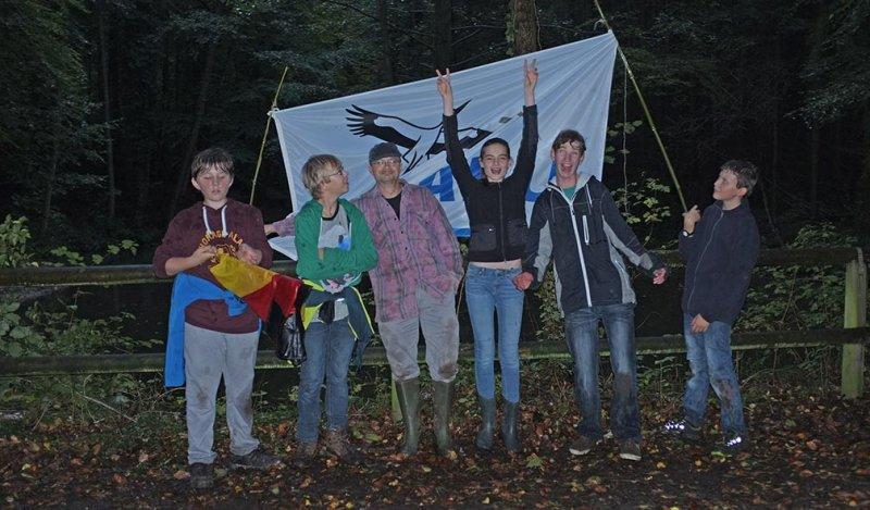 Feuersalamander am Märchenteich 09