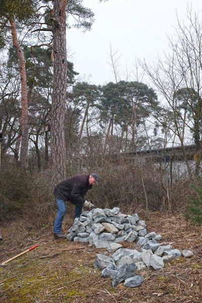 Bau Natursteinhügel 7 10x15s
