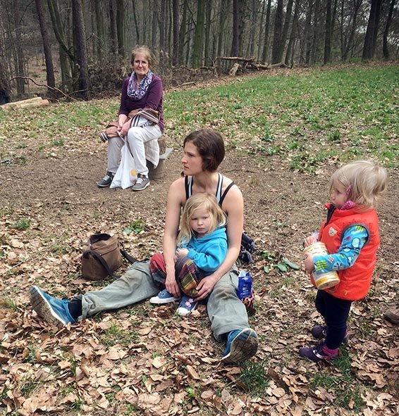 Einsatz Alsbacher Wald - Zuschauer