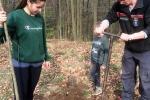 Einsatz Alsbacher Wald - Förster Tobias Elbert und Lunas
