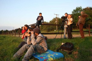 Wildbeobachtung am Hofgut Mappen