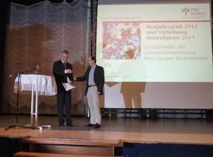 Umweltpreis der Gemeinde Seeheim-Jugenheim 2012 für den Vorsitzenden des NABU Seeheim