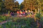 Fuchscamp im Wühlmausgarten II