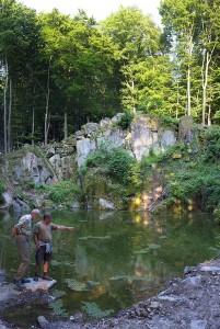Wassersteinbruch