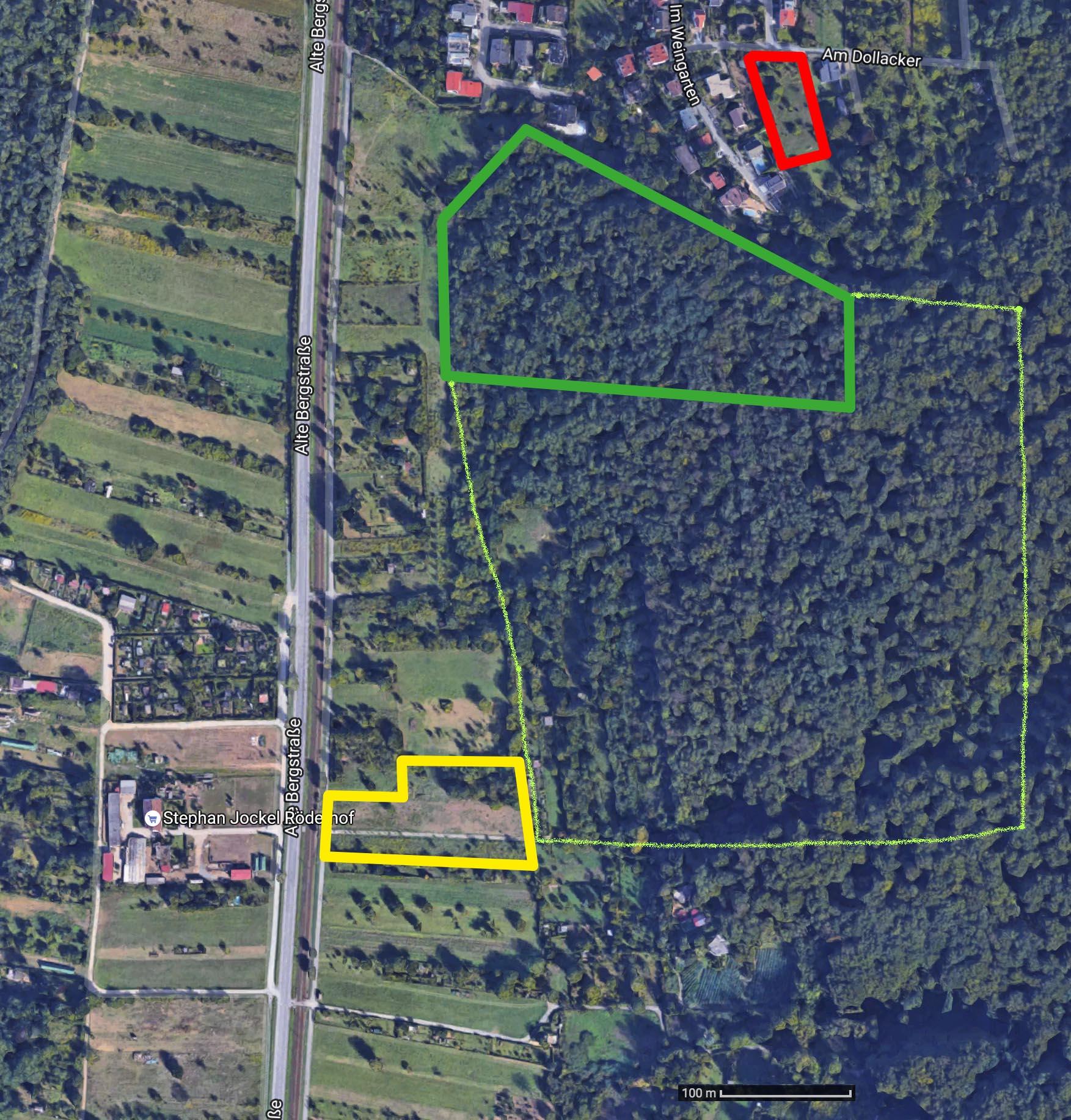 Karte Blütenhang NSG Kirschgarten Dollacker