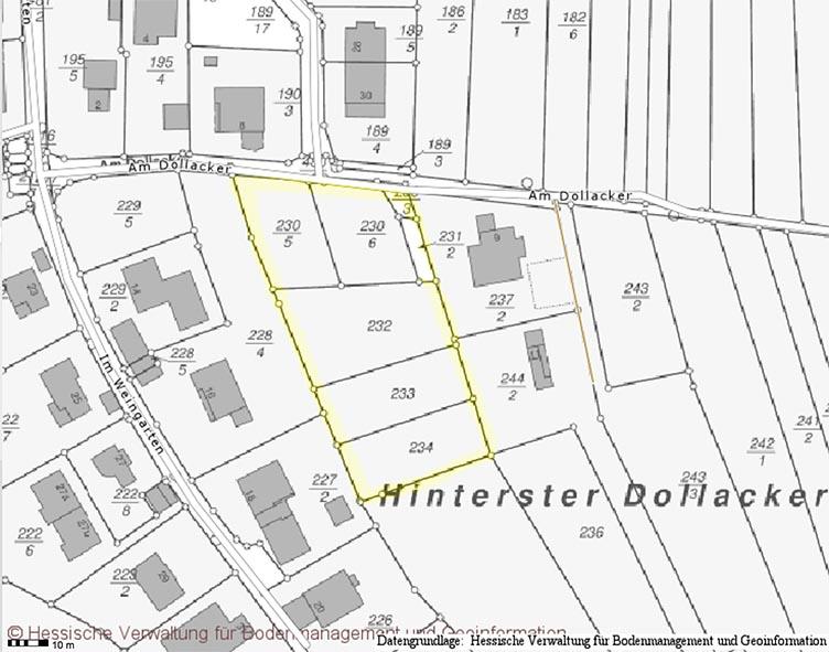 Karte Dollacker