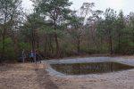 Korrekturarbeiten am Amphibienteich Malcher Tanne