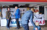 NABU-Stand beim Fest auf dem Betriebshof der Gemeinde Seeheim-Jugenheim