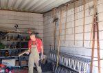 Aufräumen in der NABU-Garage