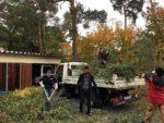 Schuttberäumung und Pflegearbeiten an der NABU-Garage