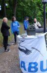 NABU Stand im Stangenberg-Park