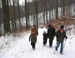 Wanderung zur Blockhütte