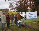 """NABU Aktion in Seeheim """"Pflanzt Hochstamm-Obstbäume"""""""