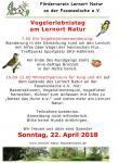 Vogelerlebnistag am Lernort Natur