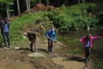 Arbeitseinsatz am Wassersteinbruch