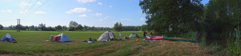 0 Lager bei Schlettstadt am Morgen 6 10x43s