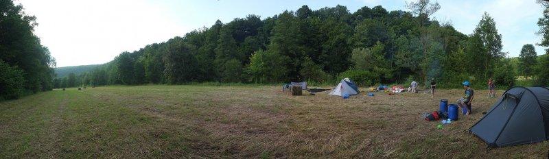 Lager am Dreiecksfelsen 1
