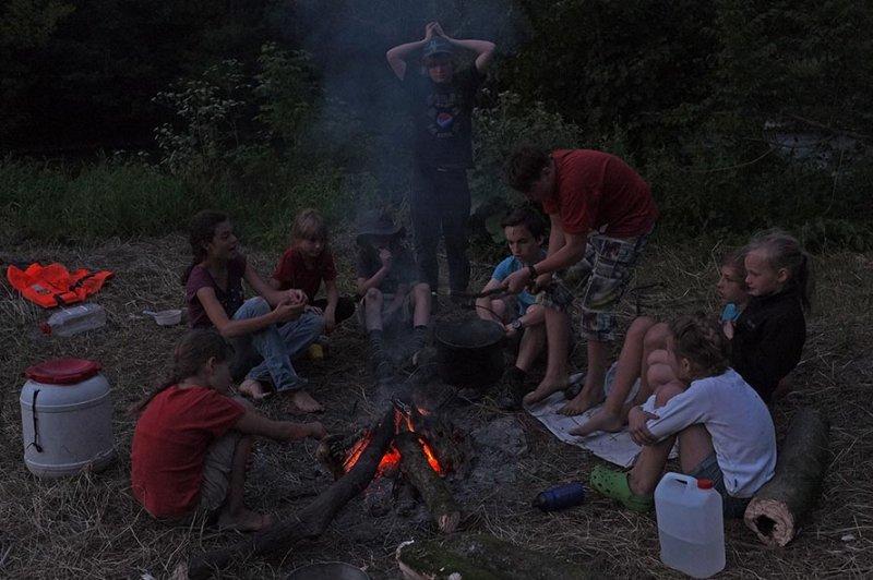 Lagerfeuer am Dreiecksfelsen 04