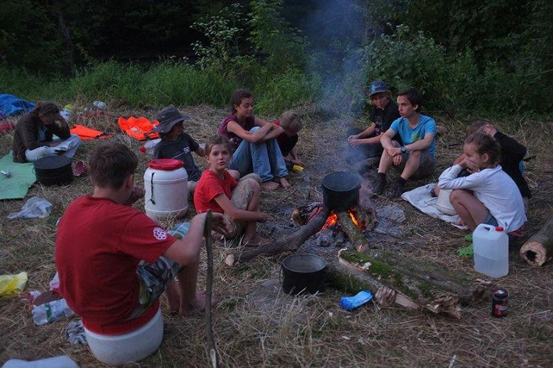 Lagerfeuer am Dreiecksfelsen 05
